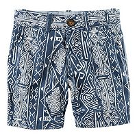 Baby Boy Carter's Printed Flat Front Shorts