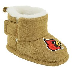 Baby Louisville Cardinals Booties