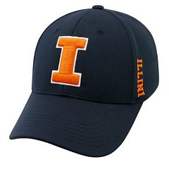 Adult Illinois Fighting Illini Booster Plus Memory-Fit Cap