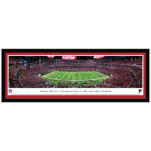 Atlanta Falcons Stadium Final Game Framed Wall Art