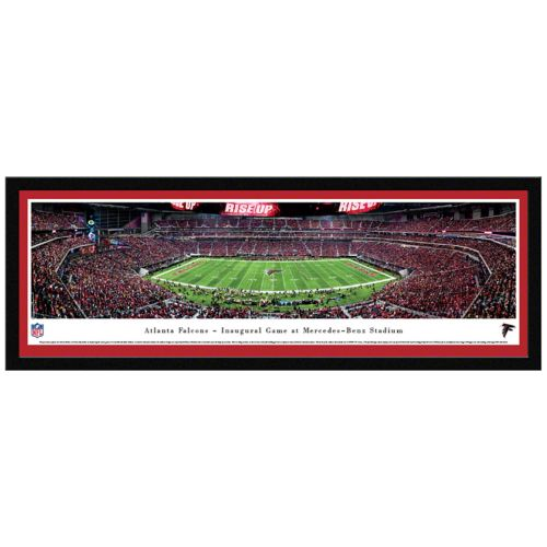 Atlanta Falcons Stadium Final Game Framed Wall Art