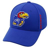 Adult Kansas Jayhawks Booster Plus Memory-Fit Cap