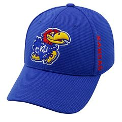 Adult Kansas Jayhawks Booster Plus Memory-Fit Cap