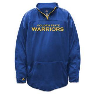 Big & Tall Majestic Golden State Warriors Birdseye Pullover
