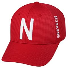 Adult Nebraska Cornhuskers Booster Plus Memory-Fit Cap