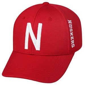 Adult Nebraska Cornhuskers Booster Plus Memory-Fit Cap