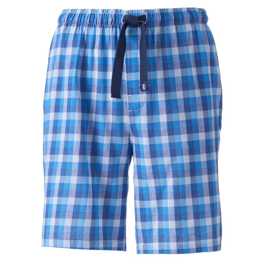 Big & Tall IZOD Plaid Sleep Shorts