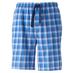 Big & Tall IZOD Plaid Sleep Shorts