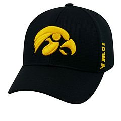 Adult Iowa Hawkeyes Booster Plus Memory-Fit Cap