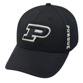 Adult Purdue Boilermakers Booster Plus Memory-Fit Cap