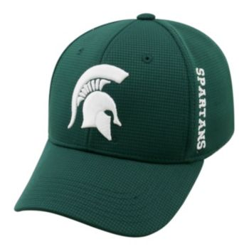 Adult Michigan State Spartans Booster Plus Memory-Fit Cap