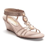 New York Transit Go Girl Women's Wedge Sandals