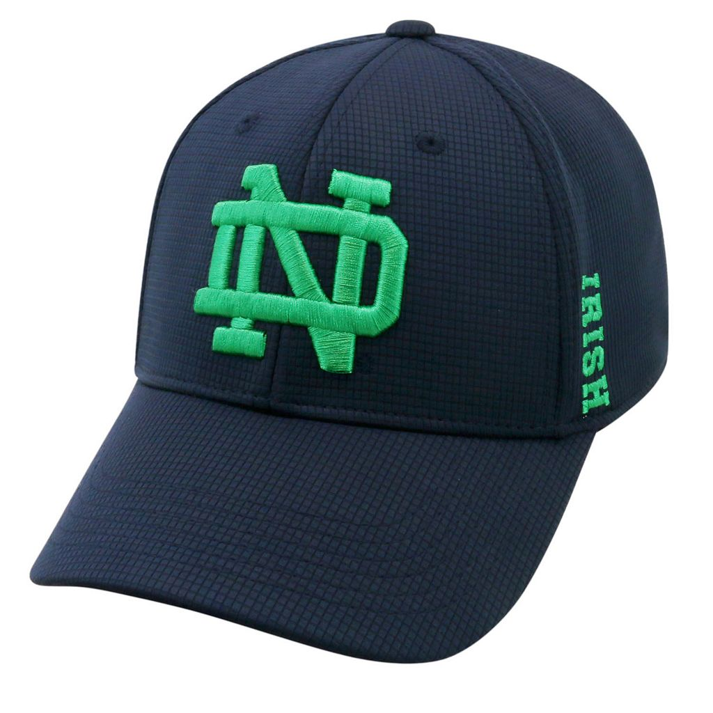Adult Notre Dame Fighting Irish Booster Plus Memory-Fit Cap