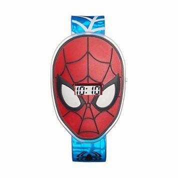 Marvel Comics Spider-Man Kids' Digital Light-Up Watch