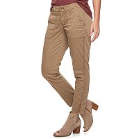 Women's SONOMA Goods for Life™ Straight-Leg Twill Ankle Pants