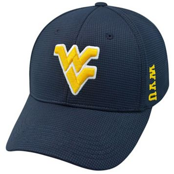 Adult West Virginia Mountaineers Booster Plus Memory-Fit Cap