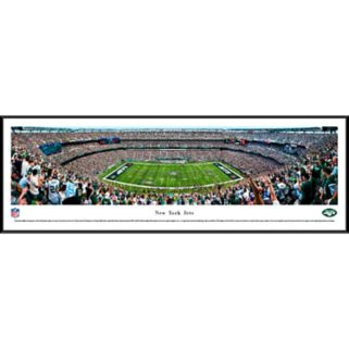 New York Jets Stadium 50-Yard Line Framed Wall Art