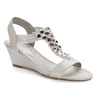 New York Transit Got Glass Women's Wedge Sandals