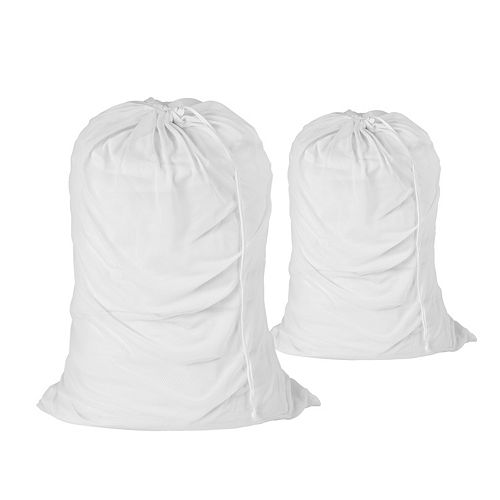 Honey-Can-Do 2-pack Cotton Laundry Bag