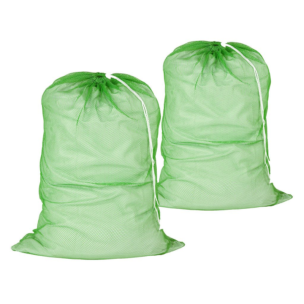 Honey-Can-Do 2-pack Mesh Laundry Bag