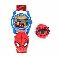 Marvel Comics Spider-Man Kids' Digital Charm Watch