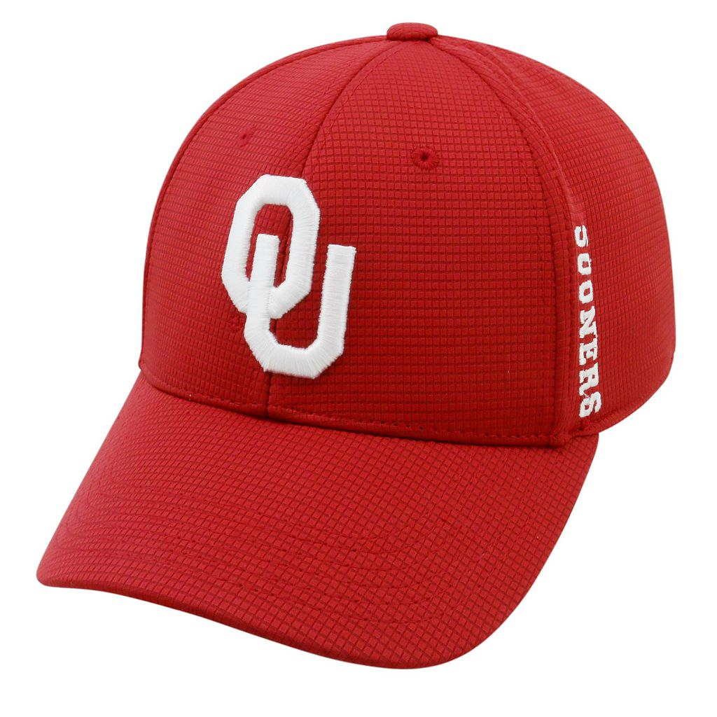 Adult Oklahoma Sooners Booster Plus Memory-Fit Cap