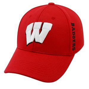 Adult Wisconsin Badgers Booster Plus Memory-Fit Cap