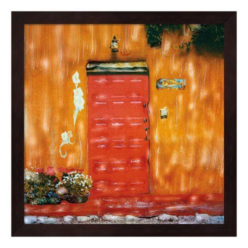Red Door Framed Wall Art