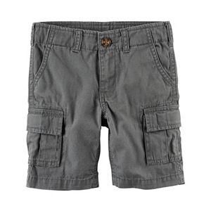 Toddler Boy Carter's Solid Cargo Shorts