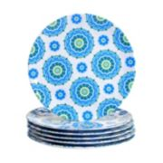 Certified International Boho 6-pc. Dinner Plate Set