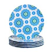 Certified International Boho 6 pc Dinner Plate Set