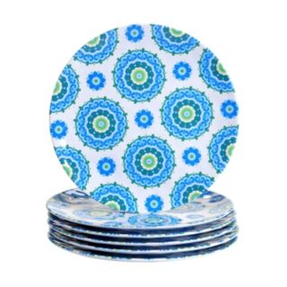 Certified International Boho 6-pc. Dinner Plate Set