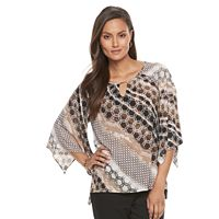 Women's Dana Buchman Printed Kimono Top