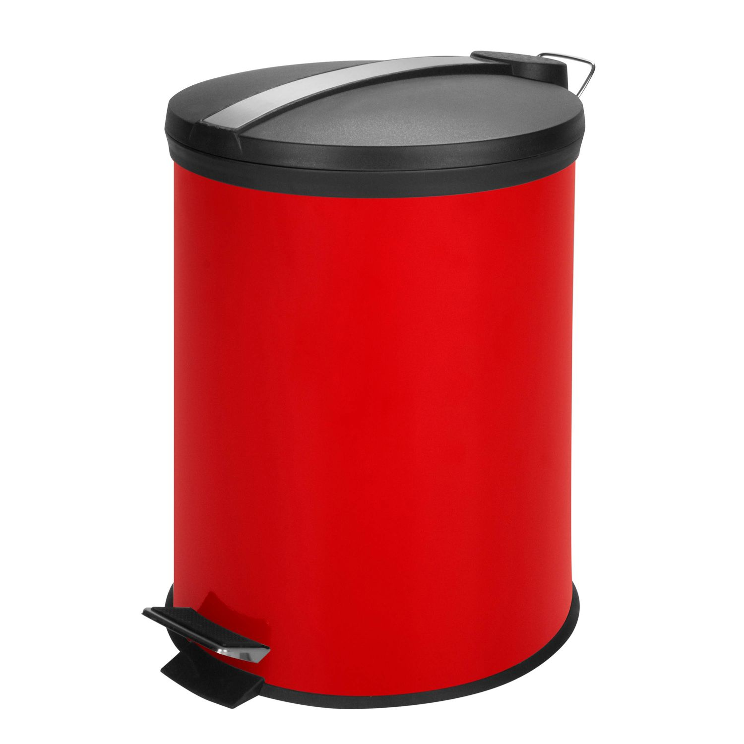 Charmant Honey Can Do 12 Liter Step Trash Can. Blue Red Black