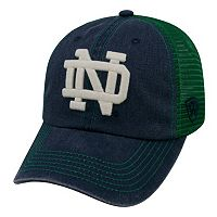 Adult Notre Dame Fighting Irish Crossroads Vintage Snapback Cap