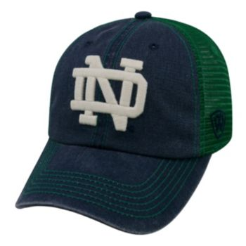 Adult Notre Dame Fighting Irish Crossroads Vintage Snapback Cap