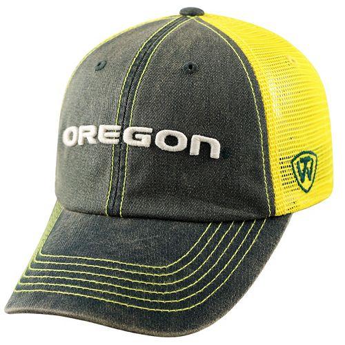 Adult Oregon Ducks Crossroads Vintage Snapback Cap 17bc67336