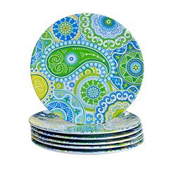 Certified International Boho 6-pc. Salad Plate Set