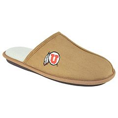 Men's Utah Utes Scuff Slipper Shoes