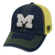 Adult Michigan Wolverines Crossroads Vintage Snapback Cap