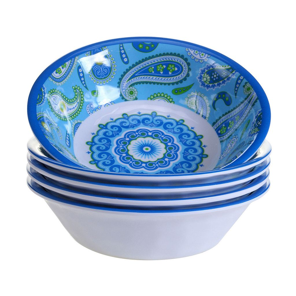 Certified International Boho 6-pc. All-Purpose Bowl Set