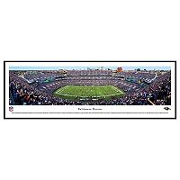 Baltimore Ravens Stadium 50-Yard Line Framed Wall Art