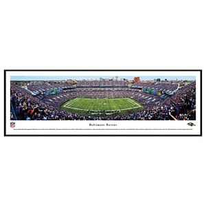 Baltimore Ravens Stadium 50-Yard Line Framed Wall Art