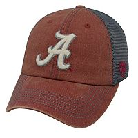 Adult Alabama Crimson Tide Crossroads Vintage Snapback Cap