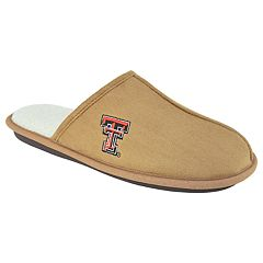 Men's Texas Tech Red Raiders Scuff Slipper Shoes
