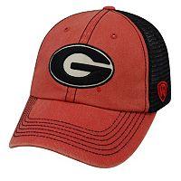 Adult Georgia Bulldogs Crossroads Vintage Snapback Cap
