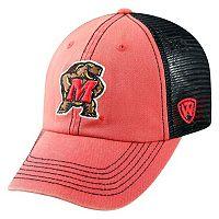 Adult Maryland Terrapins Crossroads Vintage Snapback Cap