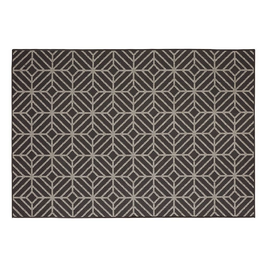 Mohawk® Home Oasis Rockport Geometric Indoor Outdoor Rug - 10'6'' x 14'