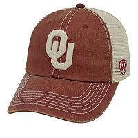 Adult Oklahoma Sooners Crossroads Vintage Snapback Cap