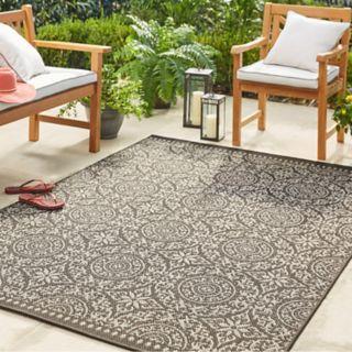Mohawk® Home Oasis Bondoran Medallion Indoor Outdoor Rug